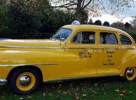 1948 New York Taxi for weddings in