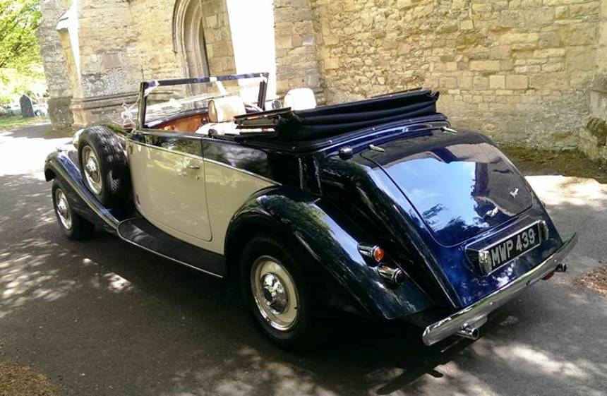 Vintage Jaguar | 1930s Jaguar For Weddings In Reading, Berkshire