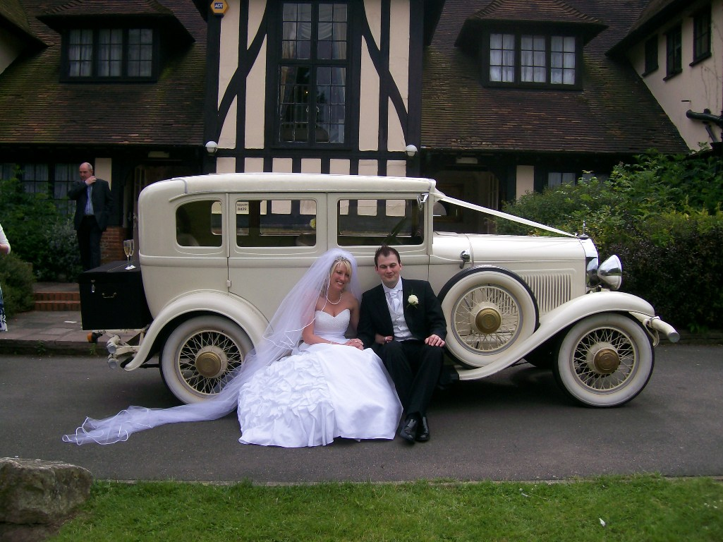 Vintage American Wedding Car 1929 Wedding Car In