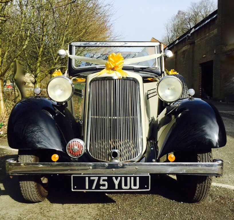 Altar Wedding Cars Manchester: Vintage Wedding Car In Mansfield