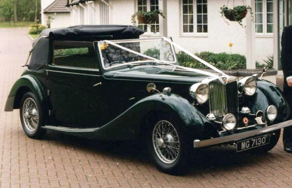 Vintage Mg Car 18