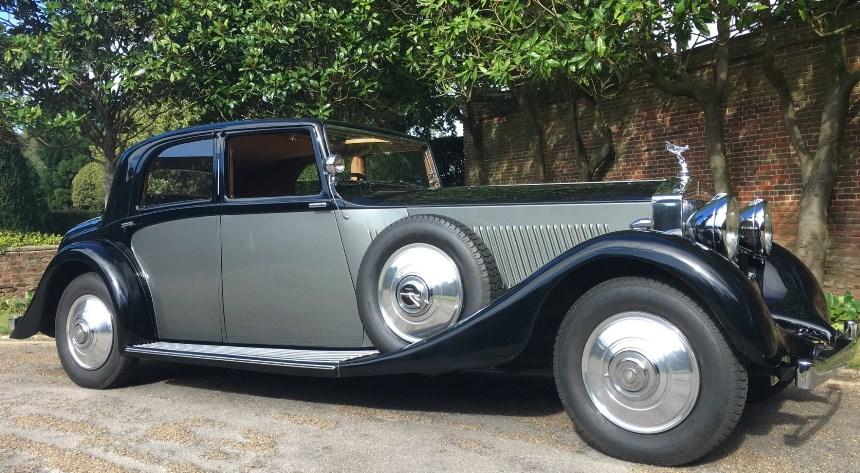 Old Rolls Royce Phantom – Automobil Bildidee