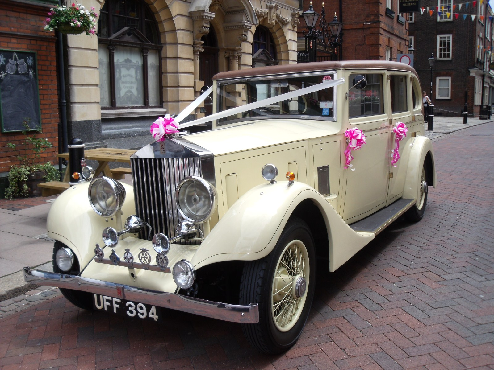 Vintage Rolls Royce | Vintage Wedding Car Hire Rochester, Kent