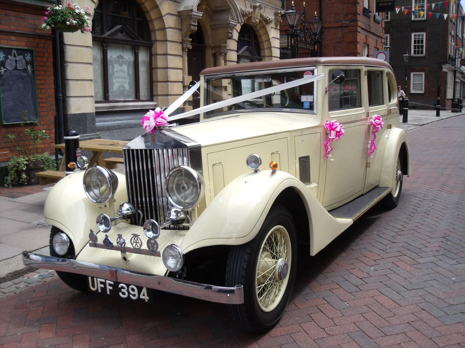 Vintage Rolls Royce Vintage Wedding Car Hire Rochester Kent