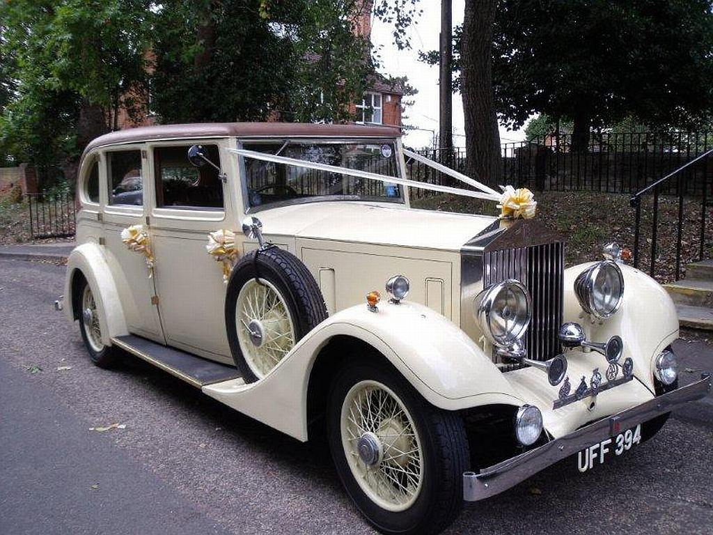 Vintage Rolls Royce Wedding Hire Mature Sexy Retro