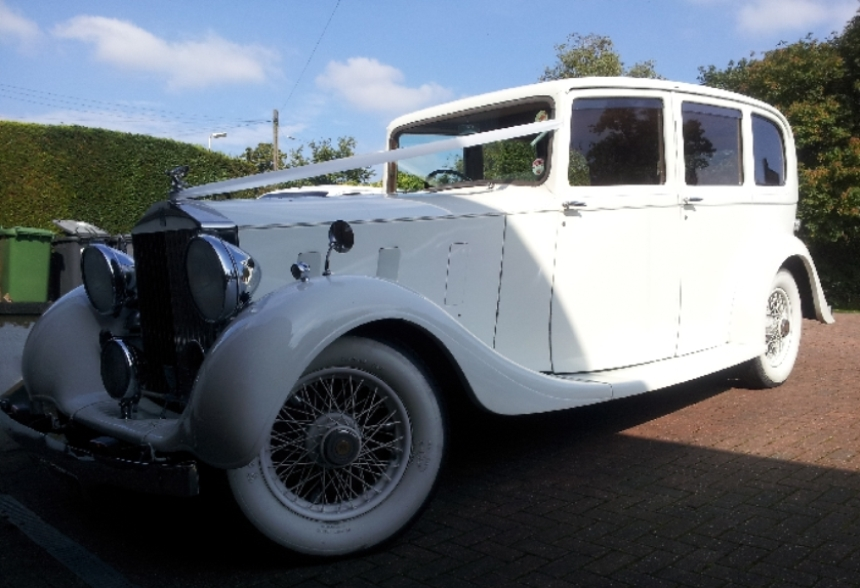 Rolls royce rolls royce wedding car in southampton hampshire Southampton motor cars