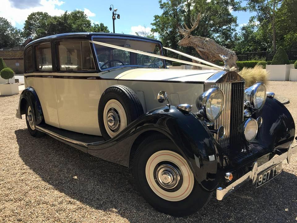Vintage Rolls Royce Rolls Royce Wedding Car Wokingham