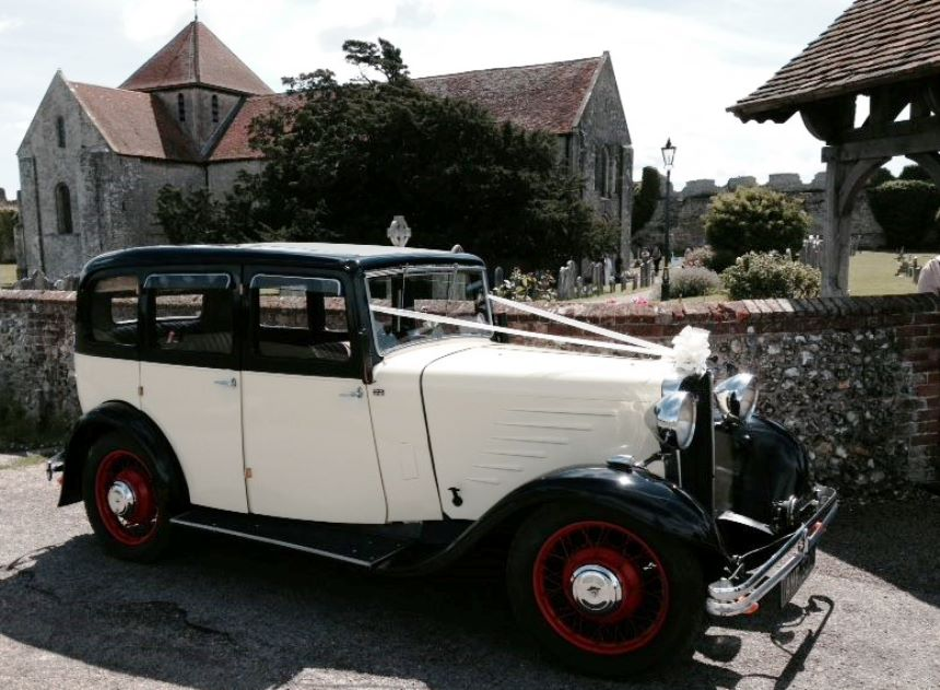 Vintage Singer | Vintage 1933 Wedding Car Hire In Fareham, Hampshire