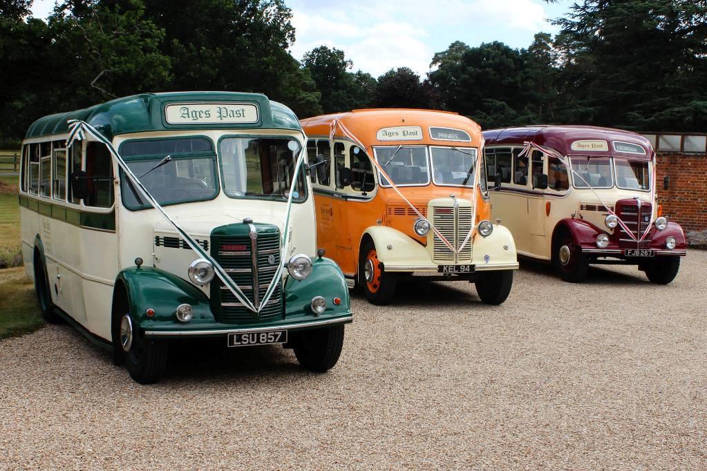 Vintage Bedford Wedding Bus Wedding Bus Hire In Reading