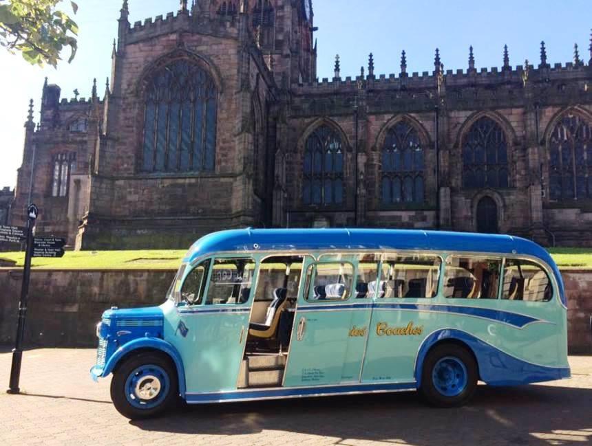 Vintage Bedford Bus For Weddings In Mansfield
