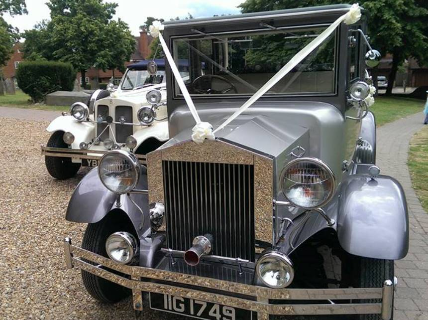 Vintage Car | Wedding Car Hire In Reading, Berkshire