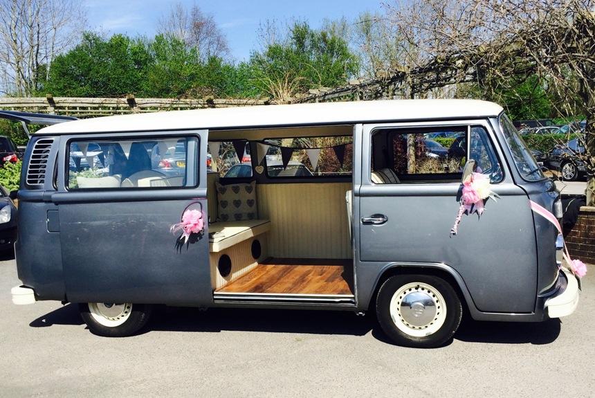 1976 campervan vw campervan for weddings in marlow. Black Bedroom Furniture Sets. Home Design Ideas
