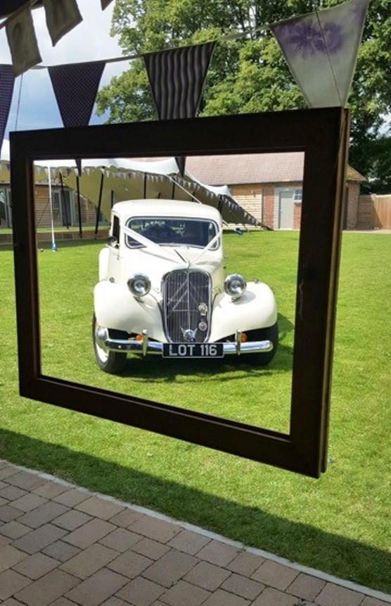 1953 Citroen Wedding Car Classic Wedding Car In