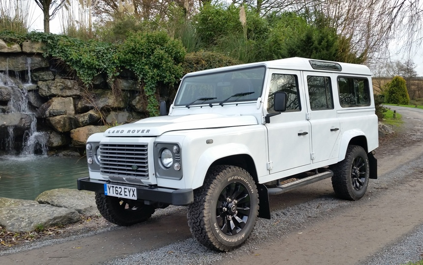Land Rover | Land Rover Defender Wedding Car In Hawkhurst, East Sussex