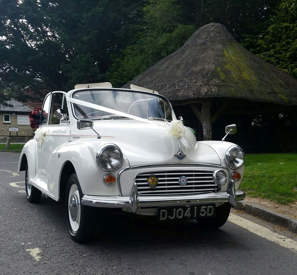Car: Morris Minor Wedding Car Hire In Portsmouth