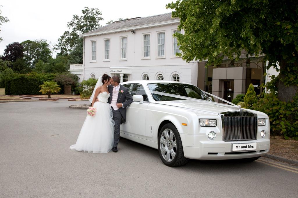 rolls royce phantom wedding car 2017